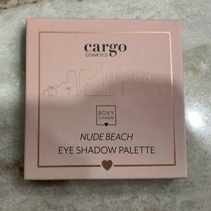 Cargo Cosmetics Nude Beach Eyeshadow Palette New